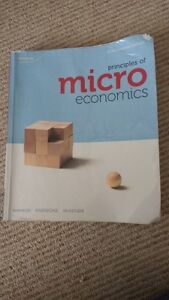 LAURIER WLU TEXTBOOK Principles of Micro economics 6th edition