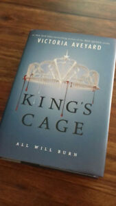 """King's Cage"" by Victoria Aveyard"