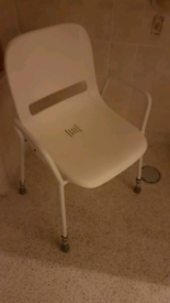 disabled shower chair