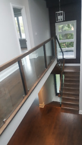 GLASS RAILING AND SHOWER DOORS