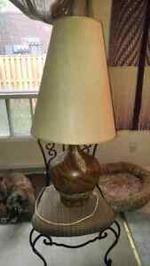 Retro Vintage LARGE Ceramic lamp