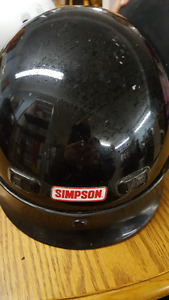 DOT Simpson Shorty Helmet