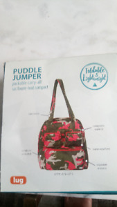 LUG Puddle Jumper Packable Carry-all (Camo Pink)