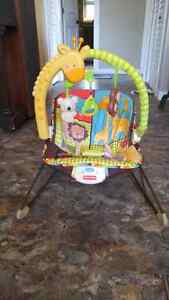 Fisher price jungle bouncy chair