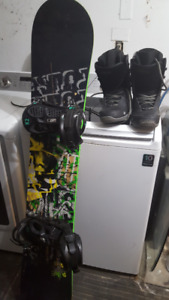 Solomon board...boots and bindings set..MUST GO