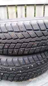 Studded  tires Prince George British Columbia image 2