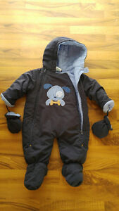 Cozy Baby Snow Suit