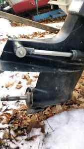 140 hp Mercruiser inboard/outboard. Late 70's early 80's.