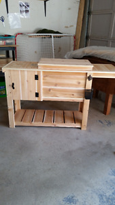 CEDAR BEVERAGE COOLERS FOR THE PATIO, DECK OR RECROOM