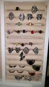 Silver rings stamp 925 asking 5 n 10 dollars need gone asap the