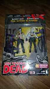 The Walking Dead Comic Book Version Series 3 Action figures 2014