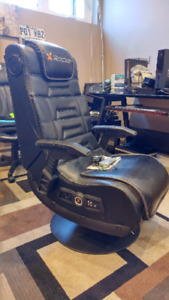 X-rocker gaming chair (built in speakers and vibration)
