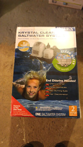BRAND NEW UNOPENED INTEX SALT WATER SYSTEM FOR A POOL