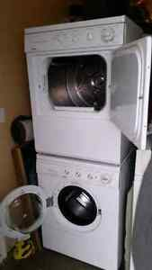 Two kenmore Apartment size washer and dryer stackable