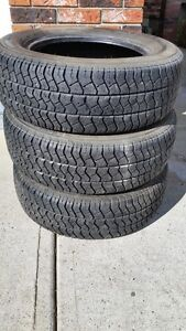 3- Michelin MXV Tires 205/60R15