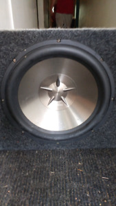 Clarion subwoofer and amp
