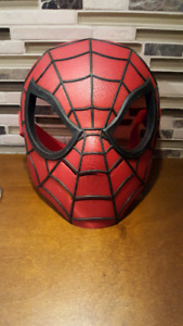 2010 Hasbro SPIDERMAN Mask hard plastic  COSPlay Halloween