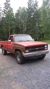 WANTED: 73-87 chevy truck 4 parts