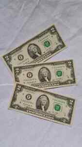 2 Dollar Bill | Kijiji in Ontario  - Buy, Sell & Save with