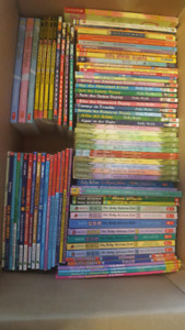 Big box of kid's chapter books