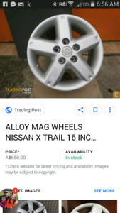 NISSAN RIMS WITH MICHELIN TIRES NEW