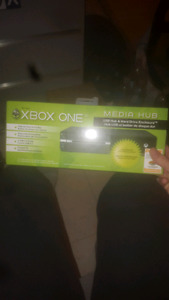 Xbox one media hub hard drive attachment 20$ not negotiable