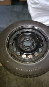 FS: BMW spare steelie wheel