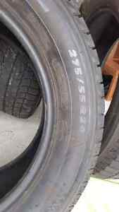 4 Winter tires Michelin x-ice 275/55/20 like new  $700 for 4 West Island Greater Montréal image 2