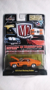 M2 MACHINES 1970 FORD MUSTANG GRABBER PREMIER EDITION DIECAST