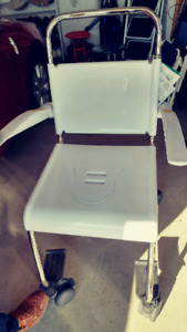 Clinell Easy Clean Commode Chair