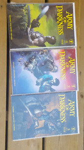 Army of darkness comics 1-3