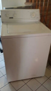 Washer + Dryer + Frigidaire  OBO