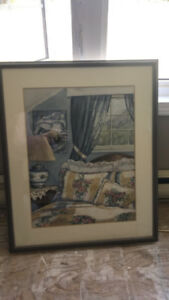Water Color Painting by local Saint John artist Mary K Cormier