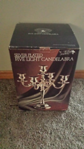 """New"" 5 Light Candelabra"
