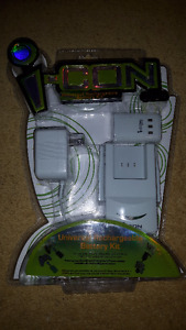 Universal Rechargeable Battery Kit for Xbox 360 & i-con 'R' Cont