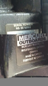 1987 Mercury 6 hp. Outboard Motor Shortshaft for Sale !