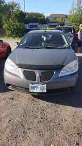 2008 Pontiac G6, sunroof and low mileage