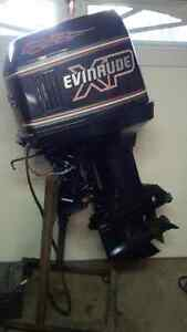 "120 HP, Evinrude, 20"" Long Shaft, Outboard Motor"