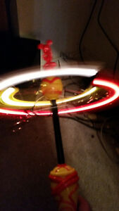 MICKEY MOUSE SPINNING LIGHT UP TOY WORKS PERFECT ONLY 9$........ London Ontario image 1