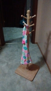 Dress up clothes stand for children