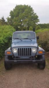 1998 Jeep TJ * Automatic * 4L