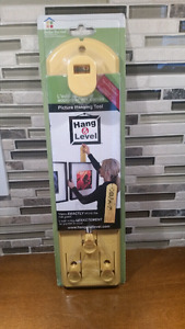 Under the Roof Decorating Hang and Level Picture Hanging Tool