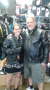 Light Summer Leather Riding Jackets! LOWEST PRICES!