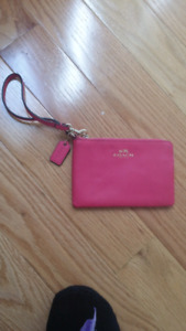Authentic Coach wristlet Moving Sale