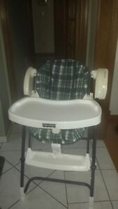 FISHER PRICE COMBO HIGH CHAIR AND SWING