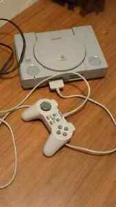 PlayStation blouse crutches vhs and speakers Edmonton Edmonton Area image 1