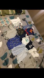 0-3month clothing lot!