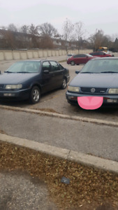 Twins. Two 1996 Volkswagen Passats both are 1.9L diesels