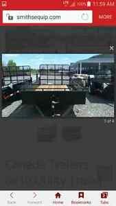 6 × 10 utility trailer