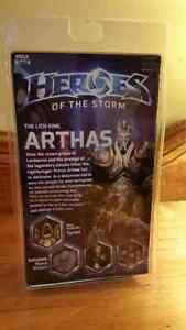 Unopened - Arthas (The Lich King) Heroes of the Storm figure Cambridge Kitchener Area image 2